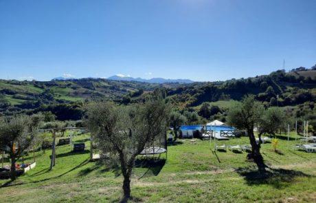 Camping44, Loro Piceno, Le Marche, Italy