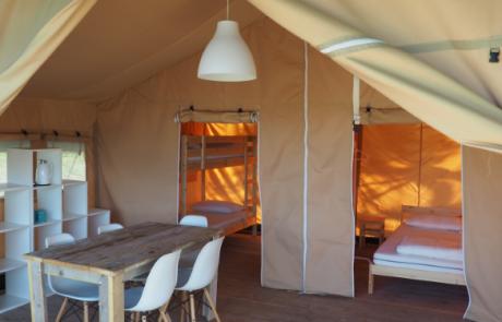 Safaritent, Agriturismo-camping, Camping44, Loro Piceno, Le Marche, Italy