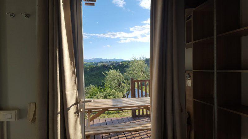 cottage-safari uitzicht, Camping44, Loro Piceno
