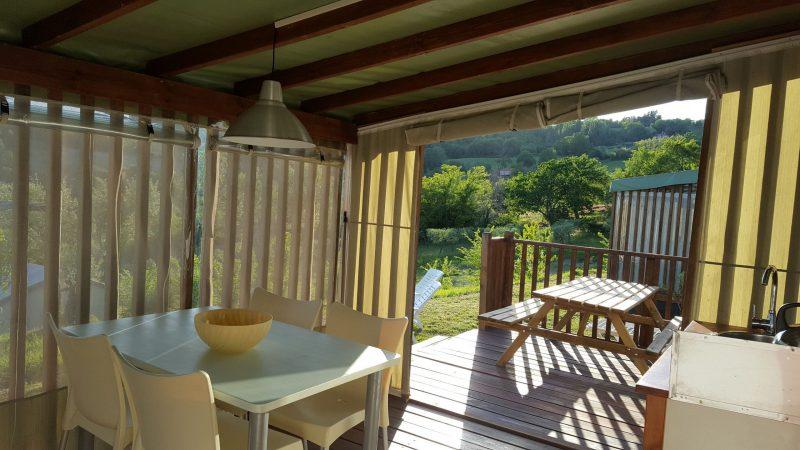 Cottage-safari, veranda